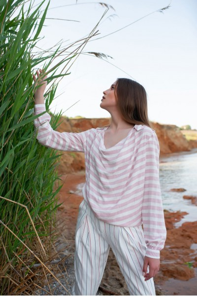 Блуза NAVYSAND 40114p