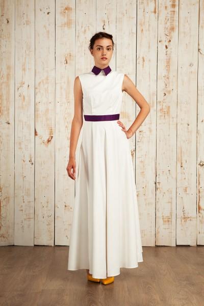Платье NAVYSAND 39159-XS-White