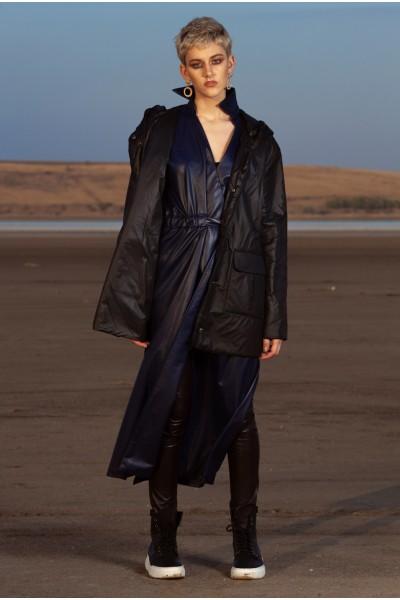 Куртка черная короткая 40616